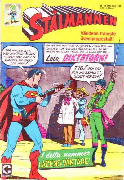 Cover for Stålmannen (Centerförlaget, 1949 series) #22/1967