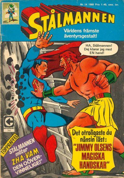 Cover for Stålmannen (Centerförlaget, 1949 series) #14/1968