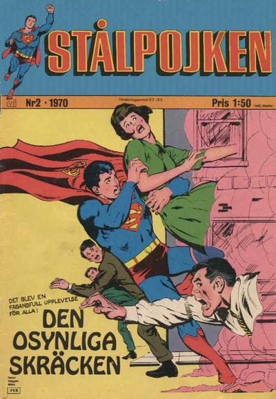 Cover for Stålpojken (Williams Förlags AB, 1969 series) #2/1970