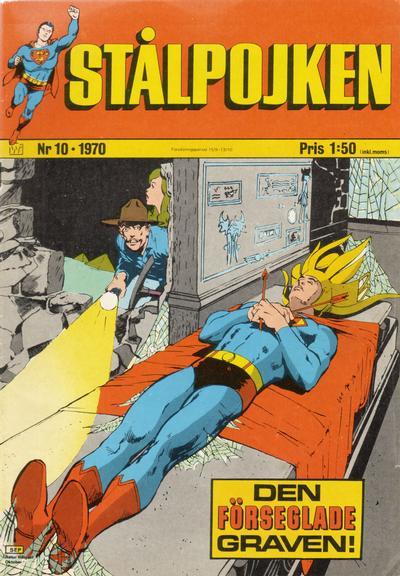 Cover for Stålpojken (Williams Förlags AB, 1969 series) #10/1970
