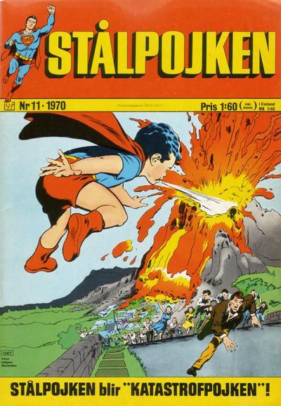 Cover for Stålpojken (Williams Förlags AB, 1969 series) #11/1970