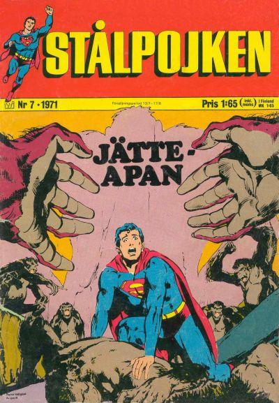 Cover for Stålpojken (Williams Förlags AB, 1969 series) #7/1971