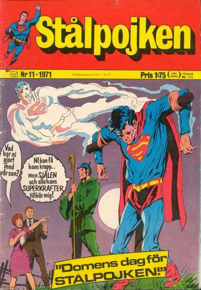 Cover for Stålpojken (Williams Förlags AB, 1969 series) #11/1971