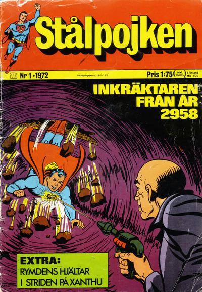 Cover for Stålpojken (Williams Förlags AB, 1969 series) #1/1972
