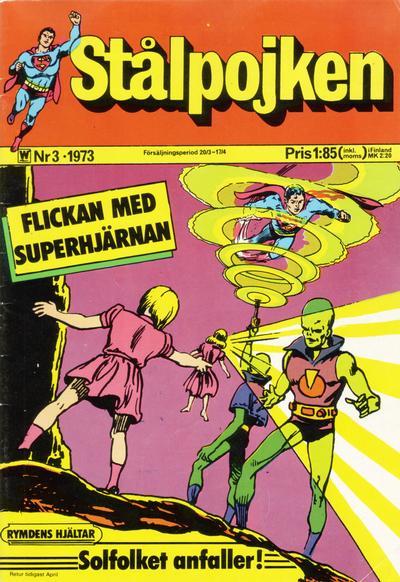 Cover for Stålpojken (Williams Förlags AB, 1969 series) #3/1973