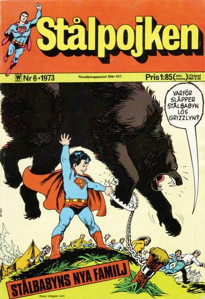 Cover for Stålpojken (Williams Förlags AB, 1969 series) #6/1973