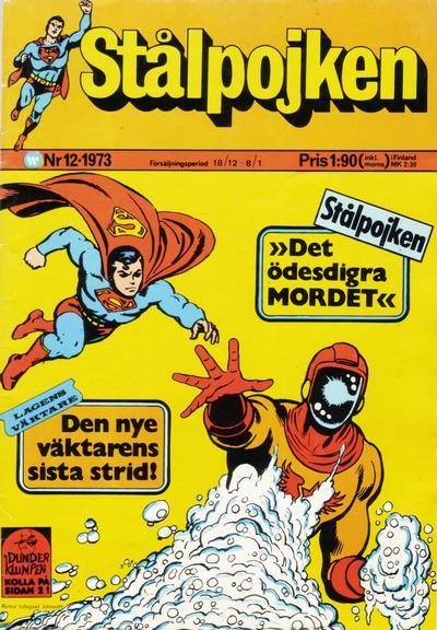 Cover for Stålpojken (Williams Förlags AB, 1969 series) #12/1973