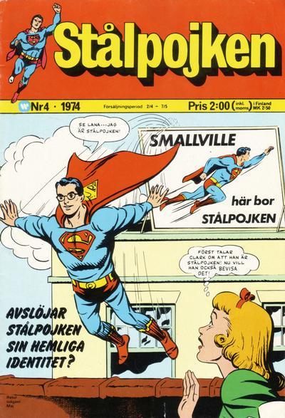 Cover for Stålpojken (Williams Förlags AB, 1969 series) #4/1974