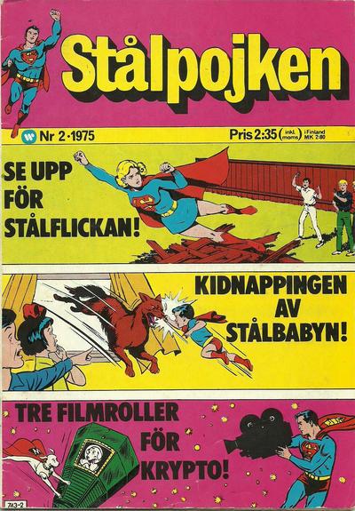 Cover for Stålpojken (Williams Förlags AB, 1969 series) #2/1975