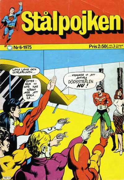 Cover for Stålpojken (Williams Förlags AB, 1969 series) #6/1975