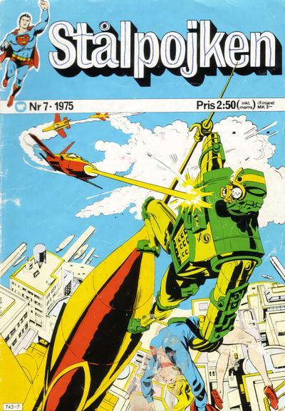 Cover for Stålpojken (Williams Förlags AB, 1969 series) #7/1975