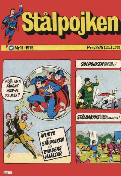 Cover for Stålpojken (Williams Förlags AB, 1969 series) #11/1975