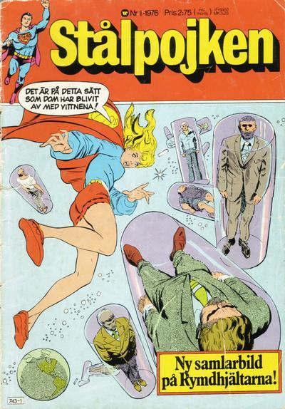 Cover for Stålpojken (Williams Förlags AB, 1969 series) #1/1976