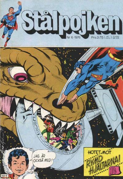 Cover for Stålpojken (Williams Förlags AB, 1969 series) #6/1976