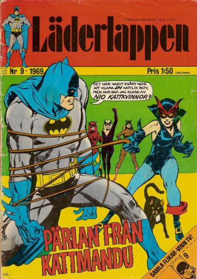 Cover for Läderlappen (Williams Förlags AB, 1969 series) #9/1969