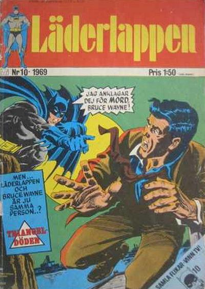 Cover for Läderlappen (Williams Förlags AB, 1969 series) #10/1969