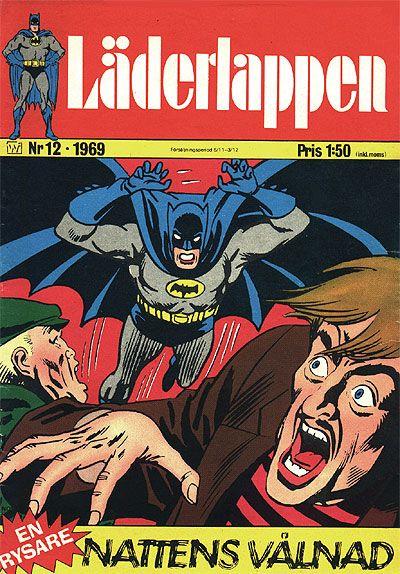 Cover for Läderlappen (Williams Förlags AB, 1969 series) #12/1969