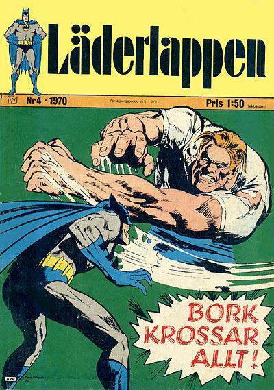Cover for Läderlappen (Williams Förlags AB, 1969 series) #4/1970