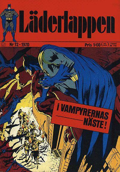 Cover for Läderlappen (Williams Förlags AB, 1969 series) #12/1970