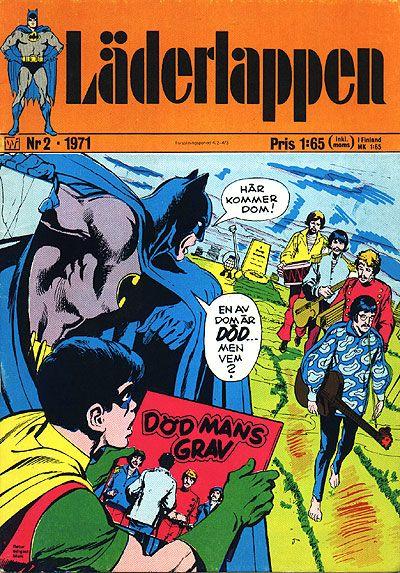 Cover for Läderlappen (Williams Förlags AB, 1969 series) #2/1971