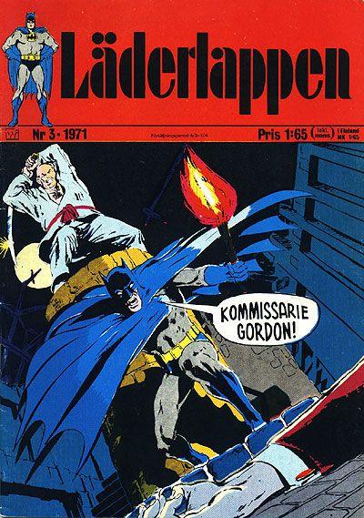 Cover for Läderlappen (Williams Förlags AB, 1969 series) #3/1971
