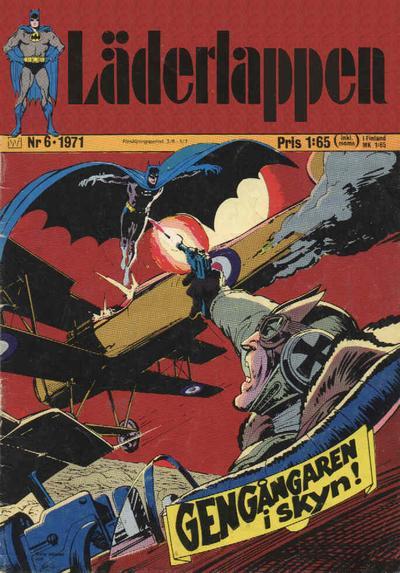 Cover for Läderlappen (Williams Förlags AB, 1969 series) #6/1971