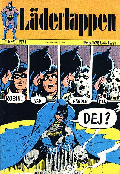Cover for Läderlappen (Williams Förlags AB, 1969 series) #9/1971