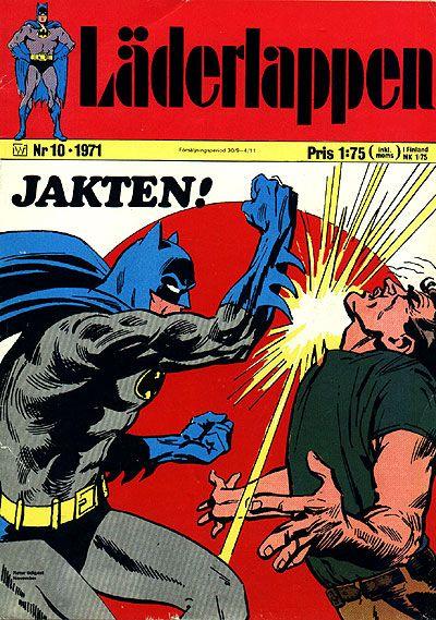 Cover for Läderlappen (Williams Förlags AB, 1969 series) #10/1971