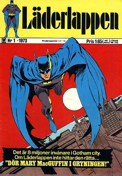 Cover for Läderlappen (Williams Förlags AB, 1969 series) #1/1973