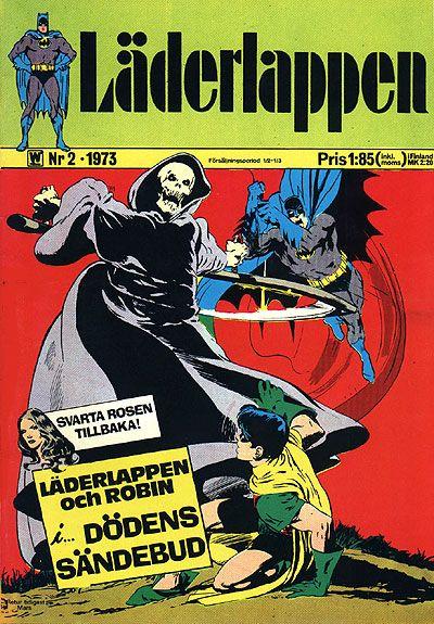 Cover for Läderlappen (Williams Förlags AB, 1969 series) #2/1973