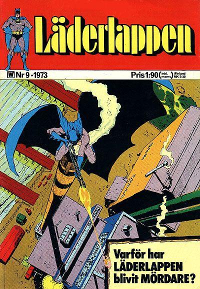 Cover for Läderlappen (Williams Förlags AB, 1969 series) #9/1973