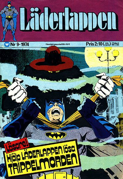 Cover for Läderlappen (Williams Förlags AB, 1969 series) #9/1974
