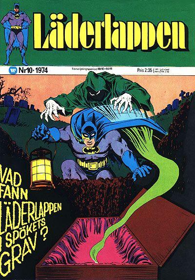 Cover for Läderlappen (Williams Förlags AB, 1969 series) #10/1974