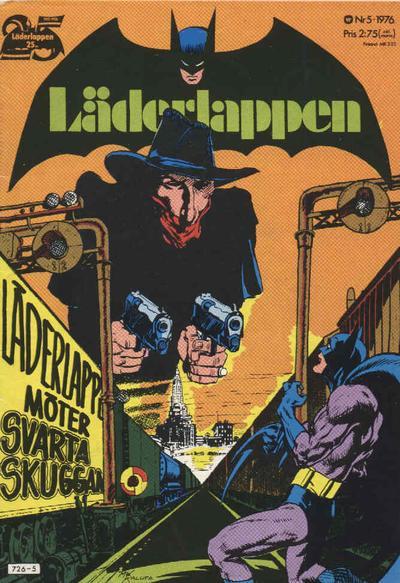 Cover for Läderlappen (Williams Förlags AB, 1969 series) #5/1976
