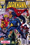 Cover for Darkhawk (Marvel, 1991 series) #19 [Newsstand]