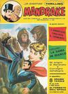 Cover for Mandrake - Albi del Vascello - Serie cronologica (Edizioni Fratelli Spada, 1972 series) #29