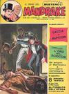 Cover for Mandrake - Albi del Vascello - Serie cronologica (Edizioni Fratelli Spada, 1972 series) #37