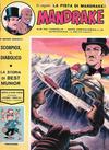 Cover for Mandrake - Albi del Vascello - Serie cronologica (Edizioni Fratelli Spada, 1972 series) #49