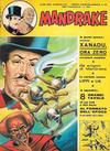 Cover for Mandrake - Albi del Vascello - Serie cronologica (Edizioni Fratelli Spada, 1972 series) #13