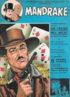 Cover for Mandrake - Albi del Vascello - Serie cronologica (Edizioni Fratelli Spada, 1972 series) #18