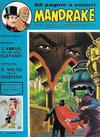 Cover for Mandrake - Albi del Vascello - Serie cronologica (Edizioni Fratelli Spada, 1972 series) #46
