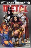 Cover for Dark Nights: Metal (DC, 2017 series) #1 [Comic Hero U Joe Benitez Color Cover]