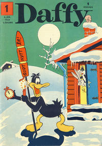 Cover Thumbnail for Daffy (Allers Forlag, 1959 series) #1/1960