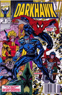 Cover Thumbnail for Darkhawk (Marvel, 1991 series) #19 [Newsstand]