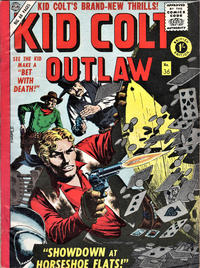 Cover Thumbnail for Kid Colt Outlaw (Thorpe & Porter, 1950 ? series) #36