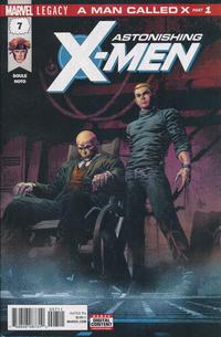 Cover Thumbnail for Astonishing X-Men (Marvel, 2017 series) #7 [Mike Deodato Jr.]