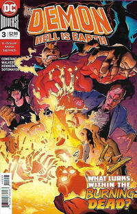 Cover Thumbnail for The Demon: Hell Is Earth (DC, 2018 series) #3