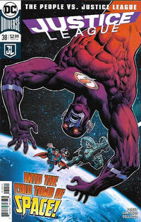 Cover Thumbnail for Justice League (DC, 2016 series) #38