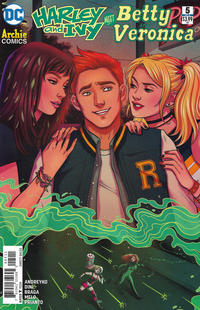 Cover Thumbnail for Harley & Ivy Meet Betty & Veronica (DC, 2017 series) #5 [Jen Bartel Cover]