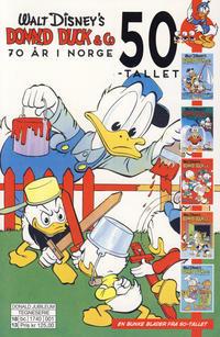 Cover Thumbnail for Donald Duck & Co 70 år i Norge (Hjemmet / Egmont, 2018 series) #1 - 50-tallet